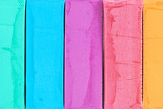 Colour dough. Background of colour play dough Stock Image