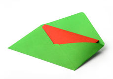 Colour envelope Royalty Free Stock Photos