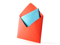 Colour Envelope Stock Photography