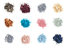 Colour eyeshadows Royalty Free Stock Photos