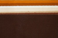 Colour fabric samples Royalty Free Stock Photo