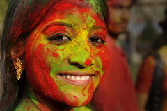 Colour Festival Stock Photos