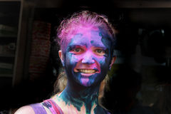 Colour Festival Royalty Free Stock Images