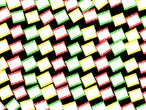 Colour film wallpaper Royalty Free Stock Images