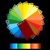 colour filmu tęcza ilustracja wektor