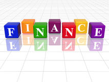 Colour finance Stock Photos