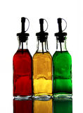 Colour flask Royalty Free Stock Photography