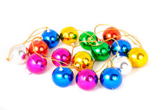 Colour garland 3 Stock Images