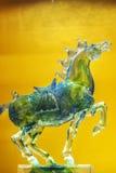 Colour glaze: a horse Royalty Free Stock Photography