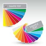 Colour guide Royalty Free Stock Photos
