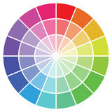 Colour guide Royalty Free Stock Images