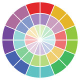 Colour guide Royalty Free Stock Photography