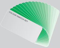 Colour guide Stock Images