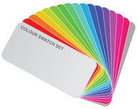 Colour guide. Illustration - Colour guide set of Swatches vector illustration