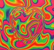 Colour heart Stock Photos