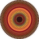 Colour Henna Mandala Background Royalty Free Stock Photos