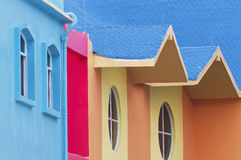Colour  house Royalty Free Stock Images