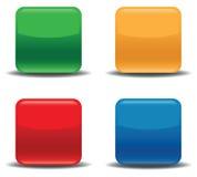 Colour icon set Stock Photos