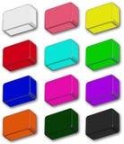 Colour icons Royalty Free Stock Photos