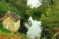British Boathouse stock photo