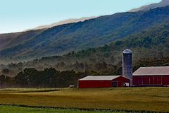 Big Valley Farms Royalty Free Stock Image