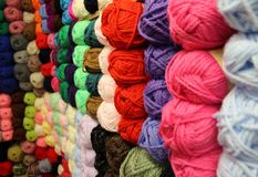 Woolen Wall stock images