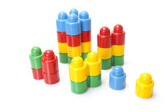 Colour kids constructor Royalty Free Stock Images