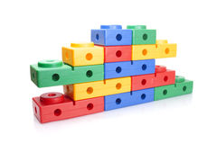 Colour kids constructor Royalty Free Stock Image
