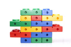Colour kids constructor Stock Images