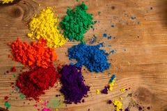 Colour koło Zdjęcie Stock