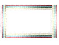 Colour kropki wzór ilustracja wektor