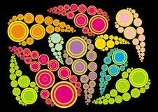 colour kropla Obrazy Stock