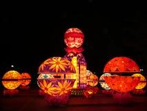 Colour lamp stock photo