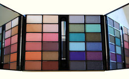 Colour Makeup Palette. In detail Stock Image