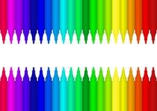 Colour marker. Vector image colour marker background Stock Images