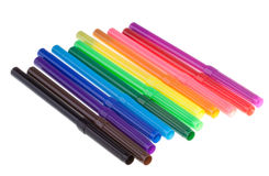 colour markiery Zdjęcia Stock