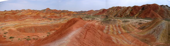colour mountain-1 Royalty Free Stock Images
