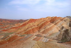 colour mountain-2 Stock Image