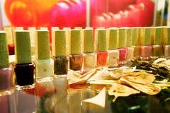 Colour of nail polish Stock Photo
