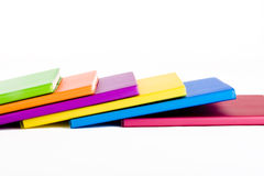 Colour notebook Royalty Free Stock Photography
