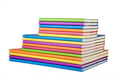 Colour notebook Royalty Free Stock Photo