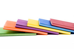 Colour notebook Stock Photography