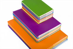 Colour notebook Stock Image