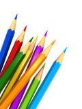 Colour ołówki royalty ilustracja