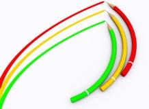 colour ołówek Zdjęcie Stock
