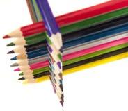 colour ołówek Zdjęcia Royalty Free