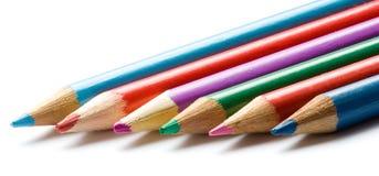 colour ołówki Obraz Stock