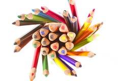 Colour ołówki Obrazy Stock
