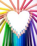Colour ołówki Obraz Royalty Free