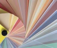 Colour palette Stock Image